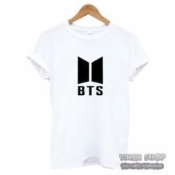 Áo Thun BTS Kpop Nam Nữ Giá Rẻ - Màu Trắng