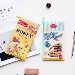 Bóp đựng bút, điện thoại, tiền hình bánh hoa quả cute-B6846