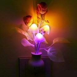 Đèn Ngủ - Trang Trí Hình Nấm Cảm Ứng Đổi Màu
