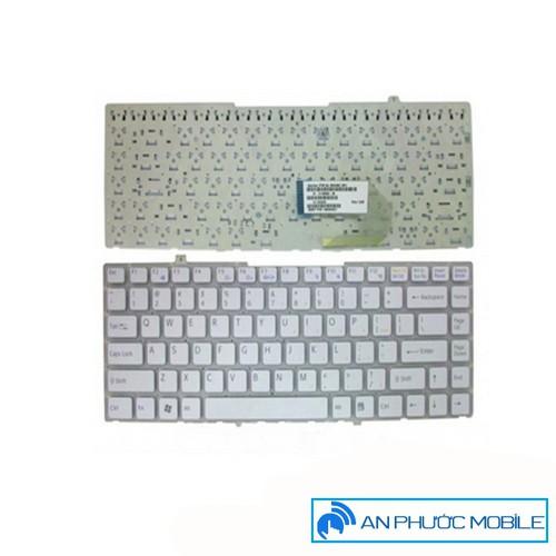 bàn phím laptop sony FW trắng có khung