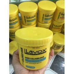 hấp dầu chuyên nghiệp giữ màu tóc nhuộm lavox 500ml