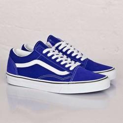 Giày  nam thời trang màu xanh coban