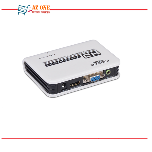Bộ Chuyển Đổi HDMI Sang VGA Có Hỗ Trợ Audio