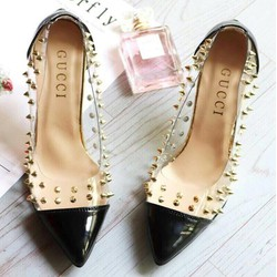 giày cao gót bít mũi sành điệu