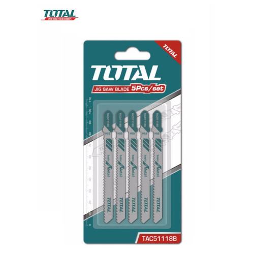Total - TAC51118B Bộ lưỡi cưa sắt 5 chi tiết - Cưa kim loại - 5797237 , 9825688 , 15_9825688 , 45000 , Total-TAC51118B-Bo-luoi-cua-sat-5-chi-tiet-Cua-kim-loai-15_9825688 , sendo.vn , Total - TAC51118B Bộ lưỡi cưa sắt 5 chi tiết - Cưa kim loại