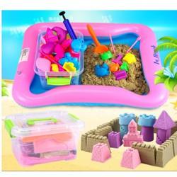 Bộ đồ chơi cát sinh học cho bé