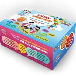 Bộ thẻ học thông minh 16 chủ đề 416 thẻ cho bé