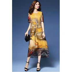 Đầm Suông Xòe Nhẹ HR1455