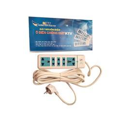 Ổ cắm điện chống giật , chống nước chập cháy KTV
