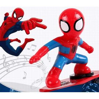 Combo 2 đồ chơi người nhện trượt ván 360 độ cho bé - ĐỒ CHƠI SIÊU NHÂN NHỆN thumbnail