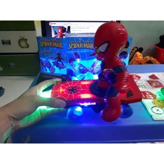 Đồ chơi người nhện trượt ván 360 độ cho bé - đồ chơi người nhện 360 thumbnail