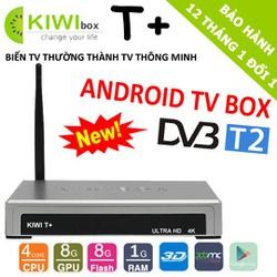 T+ ANDROID TV BOX TÍCH HỢP DVB-T2 new 2018