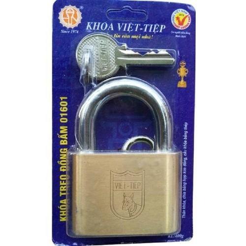 Ổ khóa treo đồng bấm Việt tiệp 01601 - cỡ lớn- 6cm - 10616169 , 9835109 , 15_9835109 , 155000 , O-khoa-treo-dong-bam-Viet-tiep-01601-co-lon-6cm-15_9835109 , sendo.vn , Ổ khóa treo đồng bấm Việt tiệp 01601 - cỡ lớn- 6cm