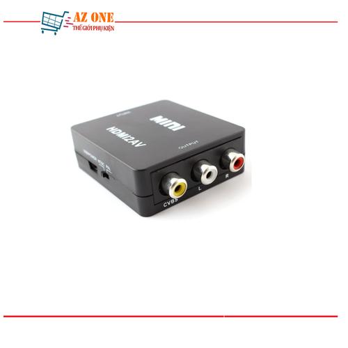 Bộ Chuyển Đổi Từ HDMI Sang AV Mini Đen