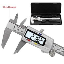 Thước cặp điện tử thép không gỉ 150mm-Tặng pin sơ cua - Thước kẹp điện tử 150mm