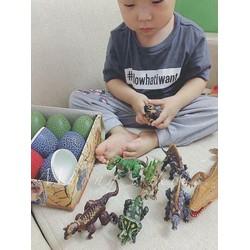 Bộ đồ chơi lắp ghép trứng khủng long có cánh