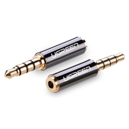 Đầu chuyển Audio 3.5mm to 2.5mm Ugreen 20502 cao cấp