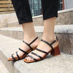 Giày sandal cao gót nữ cực hót