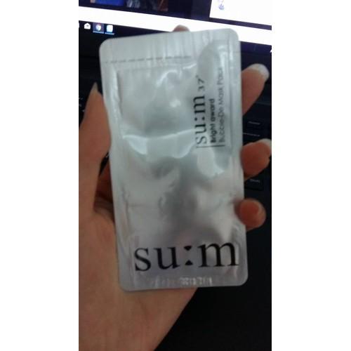 10 gói mặt nạ su: 37 sủi, thải độc