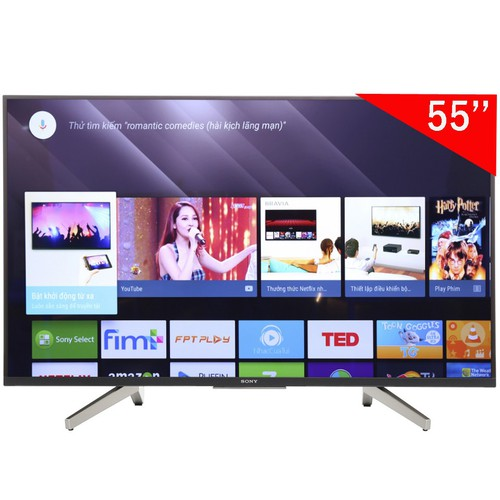Tivi Smart 4K UHD LED Sony 55 Inch KD-55X8500F