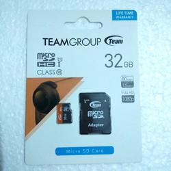 Thẻ nhớ chính hãng 32 GB class 10