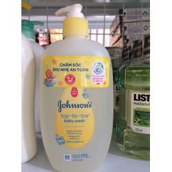 Tắm gội toàn thân Johnson Baby 500ml