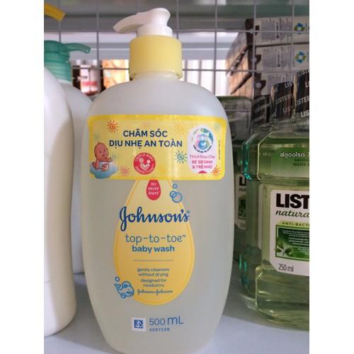 Tắm gội toàn thân Johnson Baby 500ml - 5804126 , 9837963 , 15_9837963 , 132000 , Tam-goi-toan-than-Johnson-Baby-500ml-15_9837963 , sendo.vn , Tắm gội toàn thân Johnson Baby 500ml