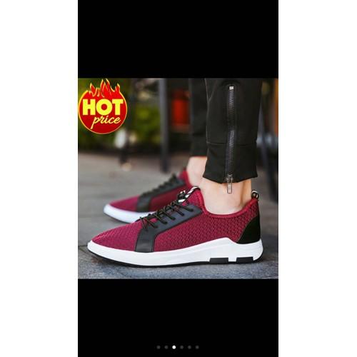 Giầy sneaker thể thao nam màu đỏ siêu đẹp size 42,thoáng khí,êm chân - 5808426 , 9845148 , 15_9845148 , 275000 , Giay-sneaker-the-thao-nam-mau-do-sieu-dep-size-42thoang-khiem-chan-15_9845148 , sendo.vn , Giầy sneaker thể thao nam màu đỏ siêu đẹp size 42,thoáng khí,êm chân