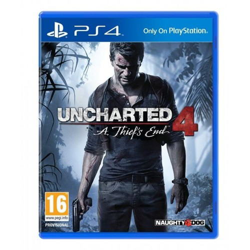 Đĩa game Ps4: Uncharted 4 2nd
