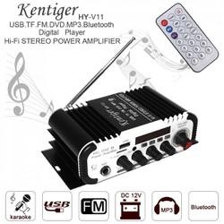Amply mini 12v Karaok Bluetooth Kengtiger Hy - V11 nhỏ gọn chất lượng