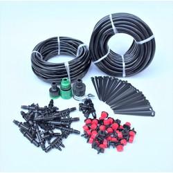 DIY Kit 32 Đầu tưới 8 tia đầy đủ dây, phụ kiện, TX-DIY-03