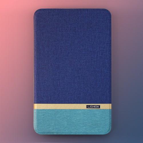 Bao da Galaxy Tab A6 7.0 2016 T280 Lishen xanh