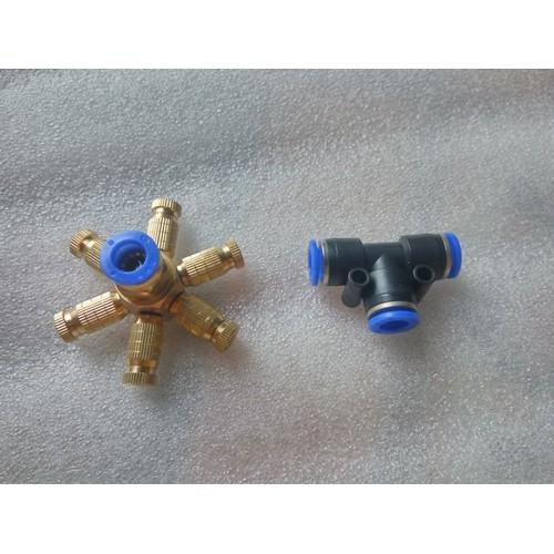 Béc phun sương tưới lan 6 đầu phun đồng tặng kèm T nối ống chuẩn 8mm - 5817615 , 9861328 , 15_9861328 , 89000 , Bec-phun-suong-tuoi-lan-6-dau-phun-dong-tang-kem-T-noi-ong-chuan-8mm-15_9861328 , sendo.vn , Béc phun sương tưới lan 6 đầu phun đồng tặng kèm T nối ống chuẩn 8mm