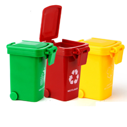 Thùng rác mini đồ chơi trẻ em bộ sản phẩm gồm 3 chiếc 3 màu