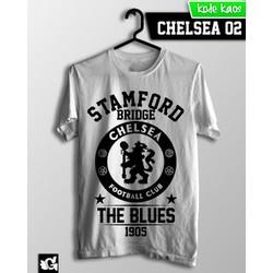 Áo bóng đá Chelsea Fc 5 - - Hình in bền vĩnh viễn, cotton xuất khẩu