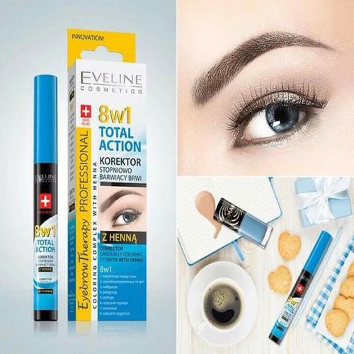Serum dưỡng lông mày 8 in 1 Eveline - 5822135 , 9866722 , 15_9866722 , 79000 , Serum-duong-long-may-8-in-1-Eveline-15_9866722 , sendo.vn , Serum dưỡng lông mày 8 in 1 Eveline