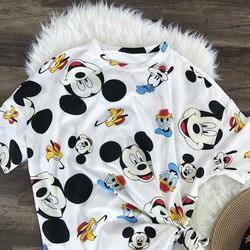 Áo T-shirt in Mickey cực xinh