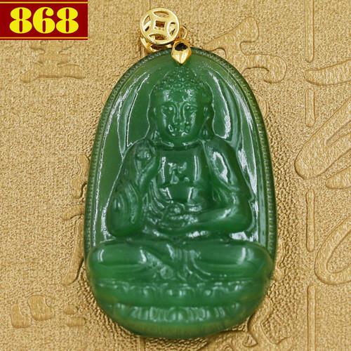 Mặt dây chuyền Phật A Di Đà ngọc tủy xanh - 5823872 , 9868256 , 15_9868256 , 200000 , Mat-day-chuyen-Phat-A-Di-Da-ngoc-tuy-xanh-15_9868256 , sendo.vn , Mặt dây chuyền Phật A Di Đà ngọc tủy xanh
