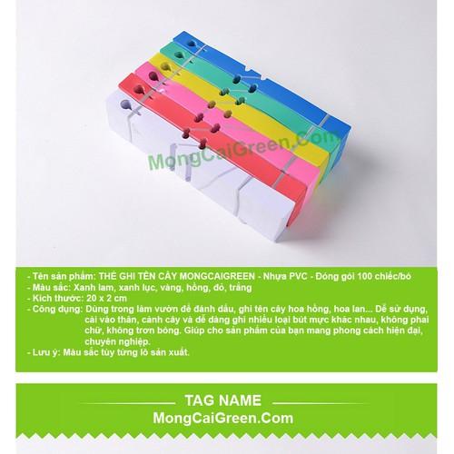 Thùng  5.000 chiếc Thẻ Ghi tên cây, đánh dấu đồ vật, Tag name