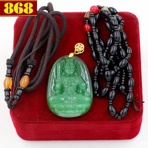 Bộ dây chuyền Bất động minh vương ngọc tủy xanh - 5823609 , 9868175 , 15_9868175 , 330000 , Bo-day-chuyen-Bat-dong-minh-vuong-ngoc-tuy-xanh-15_9868175 , sendo.vn , Bộ dây chuyền Bất động minh vương ngọc tủy xanh
