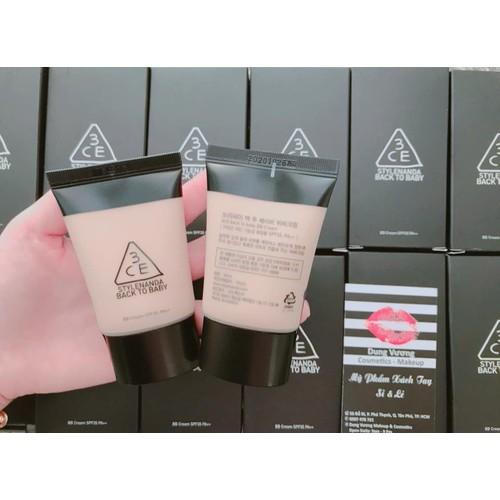 Kem nền 3CE Back To Baby BB Cream - 5815173 , 9857146 , 15_9857146 , 320000 , Kem-nen-3CE-Back-To-Baby-BB-Cream-15_9857146 , sendo.vn , Kem nền 3CE Back To Baby BB Cream