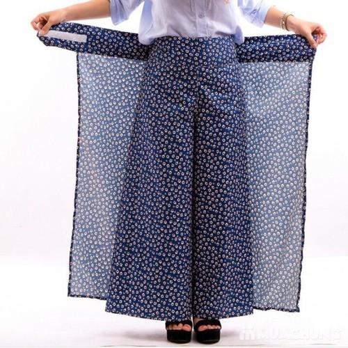 Váy chống nắng có ống quần bảo vệ tối ưu cho đôi chân