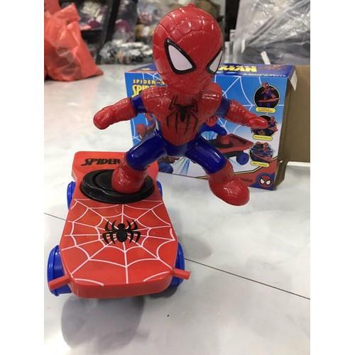 Người nhện lướt ván có đèn và nhạc - đồ chơi siêu nhân spiderman trượt ván cho bé - 10616745 , 9864702 , 15_9864702 , 90000 , Nguoi-nhen-luot-van-co-den-va-nhac-do-choi-sieu-nhan-spiderman-truot-van-cho-be-15_9864702 , sendo.vn , Người nhện lướt ván có đèn và nhạc - đồ chơi siêu nhân spiderman trượt ván cho bé