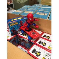 Người nhện trượt ván thông minh