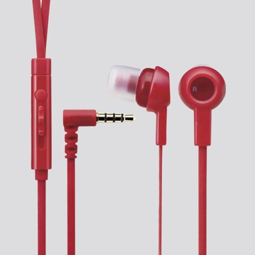 Tai nghe In-ear ELECOM EHP-CS3520 Đỏ - Hãng phân phối chính thức