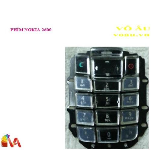 PHÍM NOKIA 2600 - 5816305 , 9858980 , 15_9858980 , 80000 , PHIM-NOKIA-2600-15_9858980 , sendo.vn , PHÍM NOKIA 2600