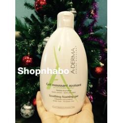 Sữa tắm trị viêm chân lông, an toàn cho da nhạy cảm A-Derma 500ml