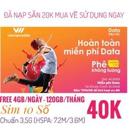 THÁNH SIM - SIM 10 SỐ - VIETNAMOBILE - SIM 3G VIETNAMOBILE