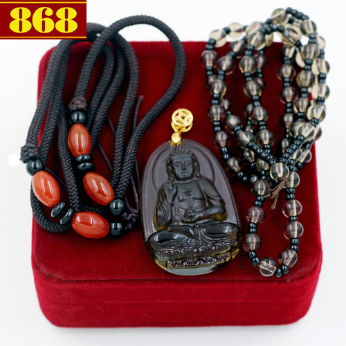 Bộ dây chuyền Phật A Di Đà Obsidian - 5823868 , 9868251 , 15_9868251 , 330000 , Bo-day-chuyen-Phat-A-Di-Da-Obsidian-15_9868251 , sendo.vn , Bộ dây chuyền Phật A Di Đà Obsidian