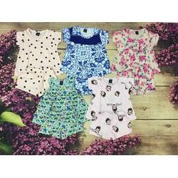 Combo 5 đồ bộ cho bé gái 1-5  tuổi